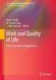 Work and Quality of Life - Nora P. Reilly; M. Joseph Sirgy; C. Allen Gorman