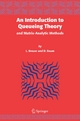 An Introduction to Queueing Theory - L. Breuer;  Dieter Baum