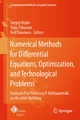 Numerical Methods for Differential Equations, Optimization, and Technological Problems - Sergey Repin;  Sergey Repin;  Timo Tiihonen;  Timo Tiihonen;  Tero Tuovinen;  Tero Tuovinen
