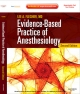 Evidence-Based Practice of Anesthesiology - Lee A. Fleisher