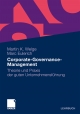 Corporate-Governance-Management - Martin Welge;  Marc Eulerich