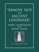 Remove Not the Ancient Landmark - Donald Martin Reynolds