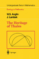 Heritage of Thales - W. S. Anglin; J. Lambek