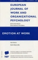 Emotion at Work - Peter Herriot; Rob B. Briner