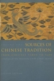 Sources of Chinese Tradition - William Theodore De Bary; Irene Cohen; Wm. Theodore de Bary