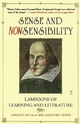 Sense and Nonsensibility - Lawrence Douglas; Alexander George