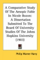 Comparative Study of the Aesopic Fable in Nicole Bozon - Philip Warner Harry