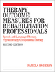 Therapy Outcome Measures for Rehabilitation Professionals - Pamela Enderby; Alexandra John; Brian Petheram
