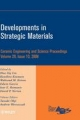Developments in Strategic Materials - Hua-Tay Lin; Kunihito Koumoto; Waltraud M. Kriven; David P. Norton