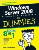 Windows Server 2008 All-in-one Desk Reference For Dummies - John Paul Mueller