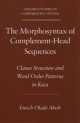 Morphosyntax of Complement-head Sequences - Enoch Olade Aboh