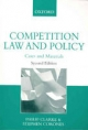 Competition Law and Policy - Philip Clarke; Stephen Corones