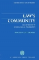 Law's Community - Roger Cotterrell