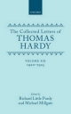 Collected Letters of Thomas Hardy - Thomas Hardy; Richard Little Purdy; Michael Millgate