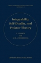 Integrability, Self-duality, and Twistor Theory - L. J. Mason; N. M. J. Woodhouse