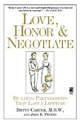 Love, Honor, and Negotiate - Elizabeth A. Carter; Betty Carter; Joan K. Peters