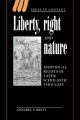 Liberty, Right and Nature - Annabel S. Brett