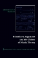 Schenker's Argument and the Claims of Music Theory - Leslie David Blasius