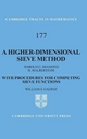 Higher-Dimensional Sieve Method - Harold G. Diamond; Heini Halberstam; William F. Galway