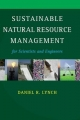 Sustainable Natural Resource Management - Daniel R. Lynch