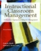 Instructional Classroom Management: A Proactive Approach to Behavior Management