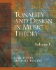 Tonality and Design in Music Theory - D. J. Henry; Michael Rogers
