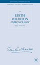 Edith Wharton Chronology - Edgar F. Harden