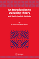 Introduction to Queueing Theory - Lothar Breuer; Dieter Baum