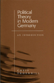 Political Theory in Modern Germany - Chris Thornhill