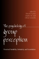 Psychology of Group Perception - Vincent Yzerbyt; Charles M. Judd; Olivier Corneille