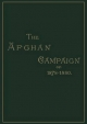 Afghan Campaigns of 1878, 1880 - S.H. Shadbolt