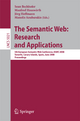 The Semantic Web: Research and Applications - Sean Bechhofer; Manfred Hauswirth; Jörg Hoffmann; Manolis Koubarakis