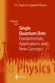 Single Quantum Dots - Peter Michler