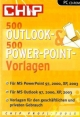 500 Outlook- & 500 PowerPoint-Vorlagen, CD-ROM