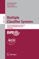 Multiple Classifier Systems - Michal Haindl; Josef Kittler; Fabio Roli