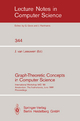 Graph-Theoretic Concepts in Computer Science - Jan van Leeuwen