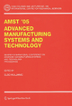 AMST'05 Advanced Manufacturing Systems and Technology - Elso Kuljanic
