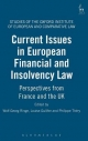 Current Issues in European Financial and Insolvency Law - Wolf-Georg Ringe; Prof. Louise Gullifer; Philippe Thery