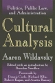 Cultural Analysis - Aaron Wildavsky; Brendon Swedlow