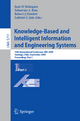 Knowledge-Based and Intelligent Information and Engineering Systems - Juan D. Velásquez; Sebastián A. Ríos
