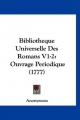 Bibliotheque Universelle Des Romans V1-2 - Anonymous