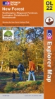 New Forest, Southampton, Ringwood, Ferndown, Lymington, Christchurch and Bournemouth - Ordnance Survey