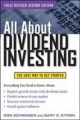 All About Dividend Investing, Second Edition - Don Schreiber;  Gary Stroik
