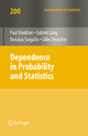 Dependence in Probability and Statistics - Paul Doukhan; Gabriel Lang; Donatas Surgailis; Gilles Teyssière