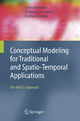 Conceptual Modeling for Traditional and Spatio-Temporal Applications - Christine Parent; Stefano Spaccapietra; Esteban Zimányi