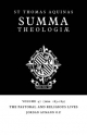 Summa Theologiae: Volume 47, the Pastoral and Religious Lives - Saint Thomas Aquinas; Jordan Aumann