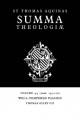 Summa Theologiae: Volume 44, Well-Tempered Passion - Saint Thomas Aquinas; Thomas Gilby