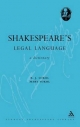 Shakespeare's Legal Language - B. J. Sokol; Mary Sokol