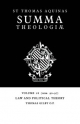 Summa Theologiae: Volume 28, Law and Political Theory - Saint Thomas Aquinas; Thomas Gilby
