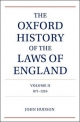 Oxford History of the Laws of England - John Hudson